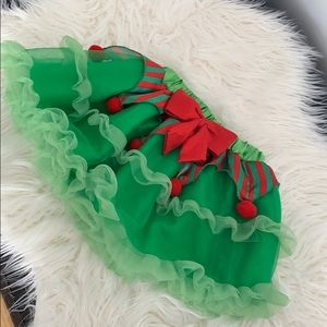 Halloween costume Elf skirt